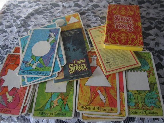 Strega Tarot Cards 1967 Full Set