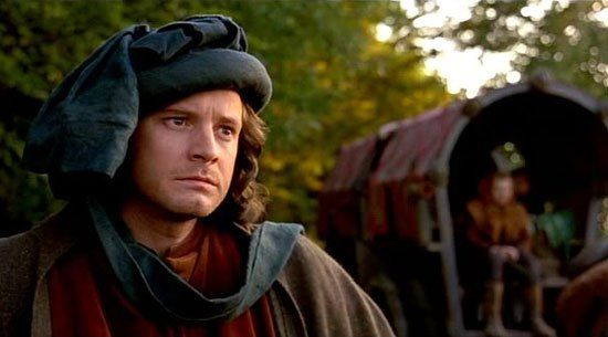 List of period dramas and movies starring Colin Firth, including some BBC TV series just added from the British streaming service BritBox.