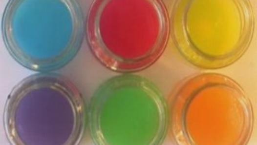 le mélange des couleurs primaires : les couleurs secondaires (Synthèse soustractive).