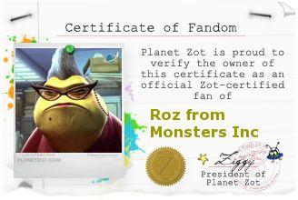 2020 Other | Images: Roz Monsters Inc Quotes