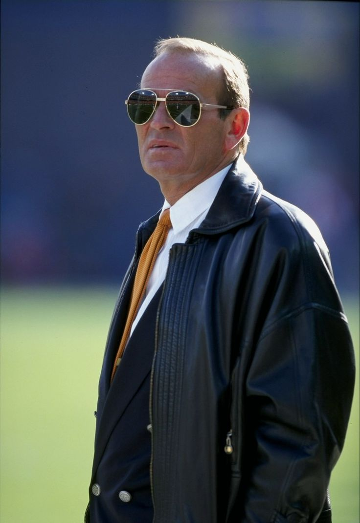 . 21 Dec 1997:  Denver Broncos owner Pat Bowlen looks on during a game against the San Diego Chargers at Mile High Stadium in Denver, Colorado.  The Broncos won the game, 38-3. Mandatory Credit: Brian Bahr  /Allsport