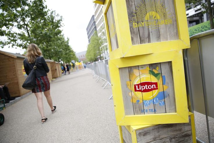 Lipton Ice Tea's slip and slide takes over London
