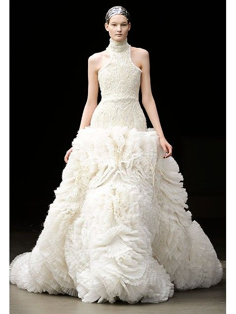 249 Best Alexander Mcqueen Wedding Dresses Images On Pinterest Homecoming Straps Dress And Dressses