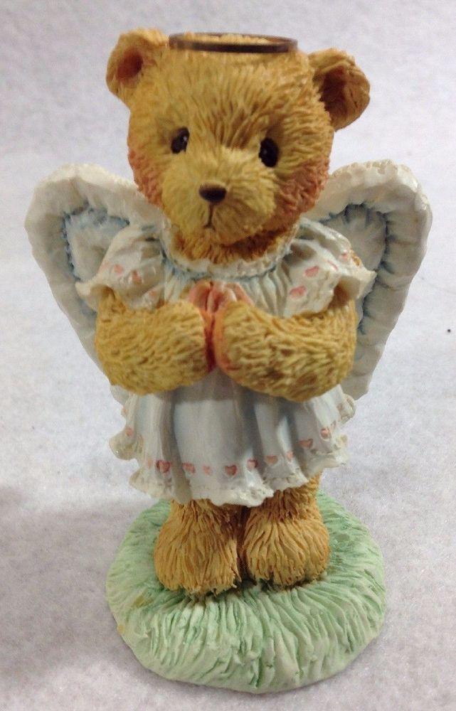 Cherished Teddies Christmas Figurines Nativity Angie Angel 951137 Retired Boxed #EnescoHamiltonGiftsLtd