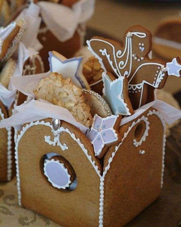 Decorazioni con pan di zenzero - Scatole di pan di zenzero