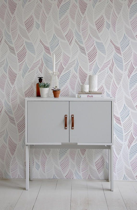 Boho Wallpaper, Boho Wall Mural, Boho Style, Peel and Stick Wallpaper, Removable, Wall Paper Removable, Wallpaper - A062