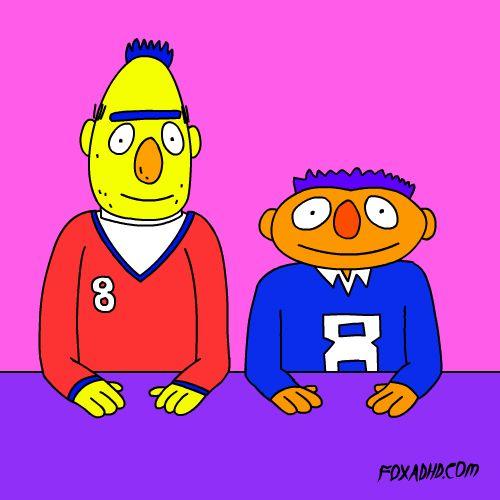 Bert and Ernie #awks #gif