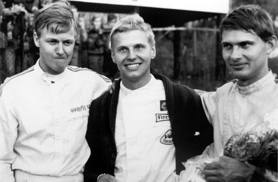 Ronnie Peterson, Reine Wisell, and Ole Vejlund.