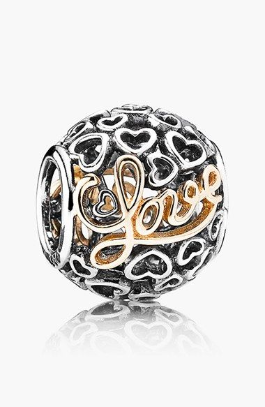 PANDORA 'Message of Love' Charm available at #Nordstrom