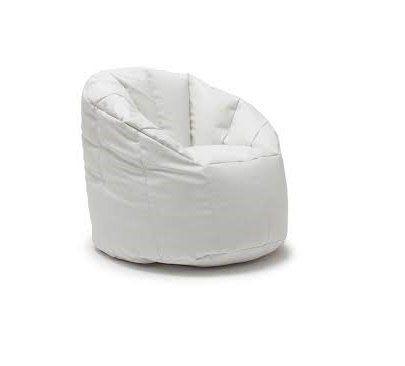 BeanSack Big Joe Milano Vegan Leather Bean Bag Chair