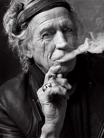 Credit: Mark Seliger/ Beetles + Huxley  Keith Richards, New York City, 2011Shot for GQ UK magazine