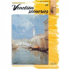 Leonardo Collection Desen Kitabı #14 Venetian Sceneries