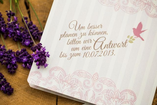 Hochzeitspapeterie Lovely Birds » MARRYME.