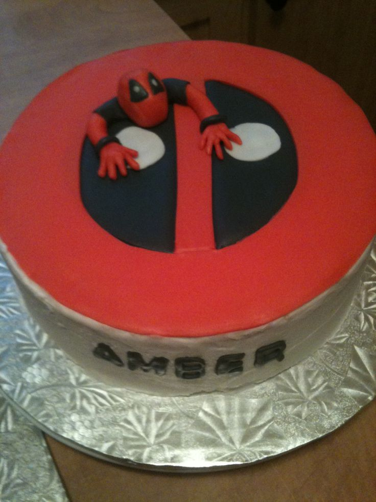 Deadpool Birthday Cake Cake Ideas And Designs