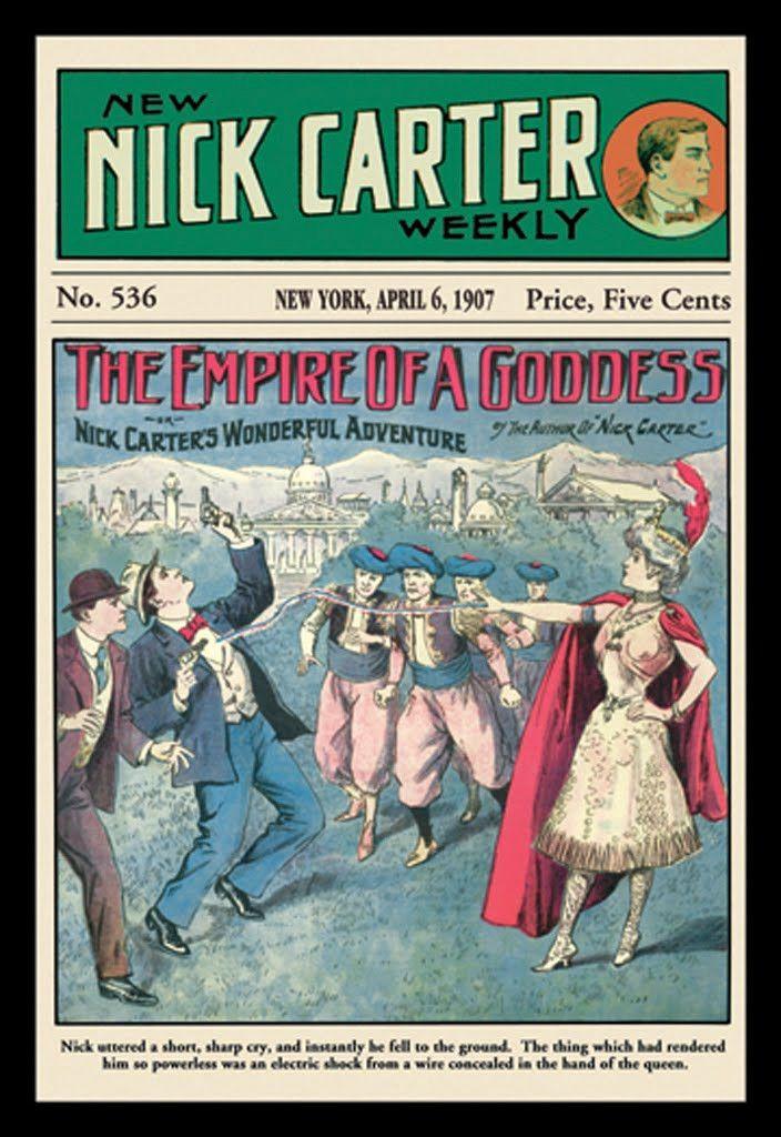 The Empire of a Goddess - Nick Carter 1907