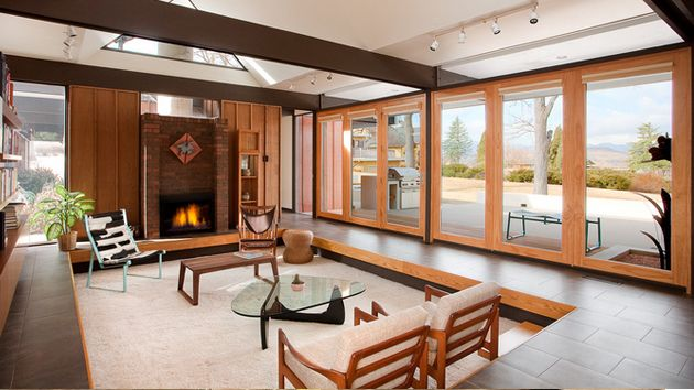 cool 15 Space-Saving and Pretty Sunken Living Rooms