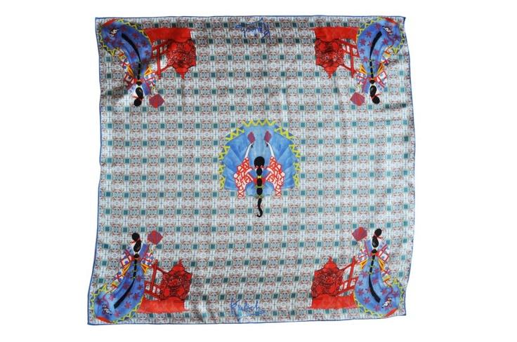 #Kinloch #Finaest #SilkScarf #Made inItaly