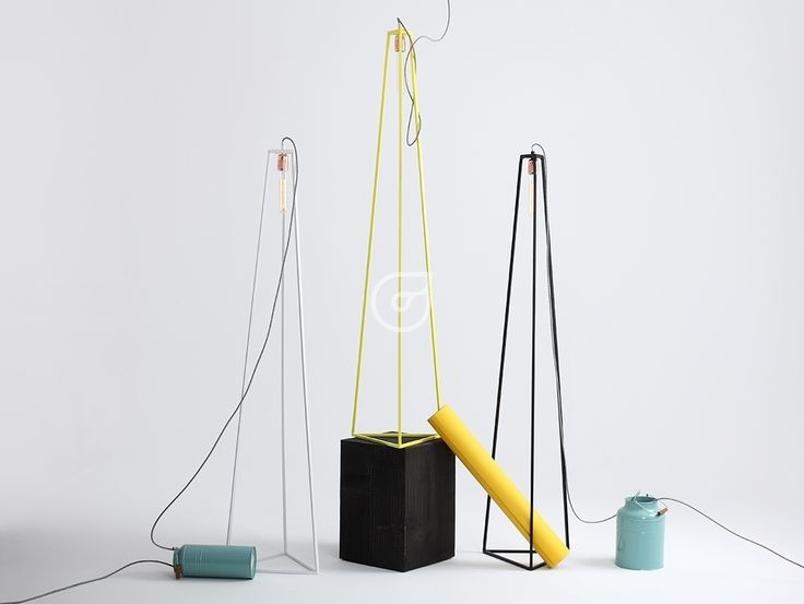 Trimetric floor lamps. Change the color and make fun!