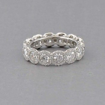 Forevermark The Center of My Universe Halo Eternity Band