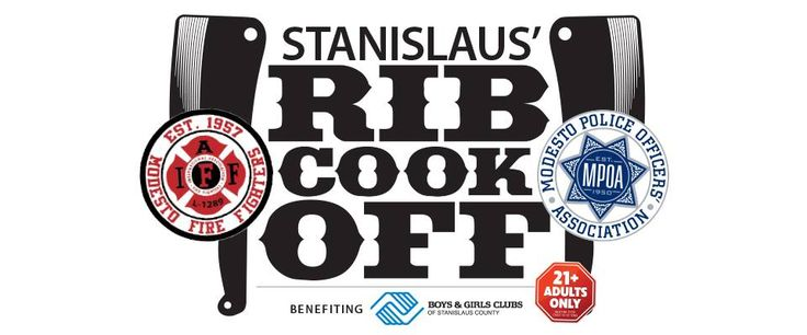 Stanislaus Rib Cook Off : Modesto Fire vs Modesto Police   We all know Modesto has the finest Police and Firefighters. What we don't know is which department cooks better ribs. To settle the debate officially, the Stanislaus Rib Cook-Off benefiting Boys & Girls Clubs of Stanislaus County will pit Modesto Police against Modesto Fire for a sizzling...   #209buzz  #modesto #stockton #turlock #merced #manteca #tracy #riverbank #oakdale #sonora #patterson #jackson #buzz