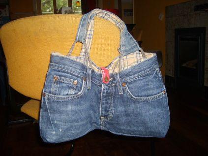 Zo maak je een tas van een jeans | oplappen