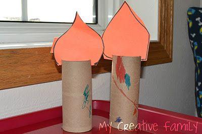 Jack Be Nimble Candlestick Craft ~ Creative Family Fun