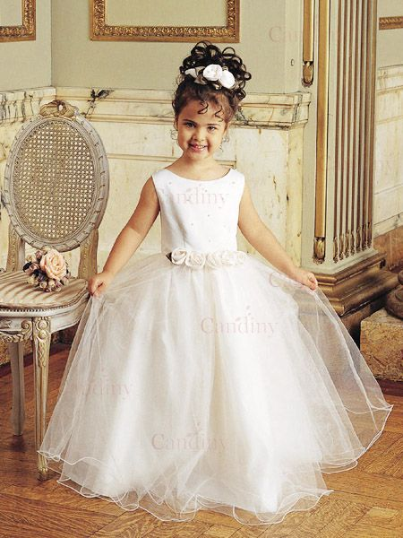 Amazing Princess Looking Wedding Flower Girl Dresses