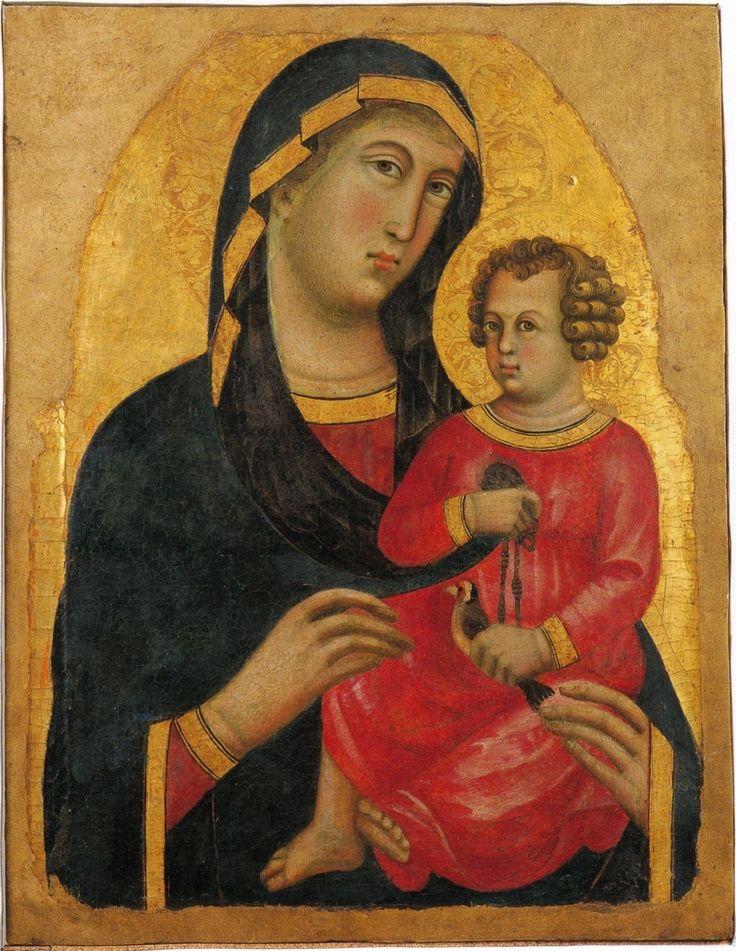 https://upload.wikimedia.org/wikipedia/commons/9/93/Memmo_di_Filippuccio_Virgen_con_el_Ni%C3%B1o_Museo_de_San_Matteo_Pisa.jpg Memmo di Filippuccio. Virgen con el Niño Museo de San Matteo Pisa.