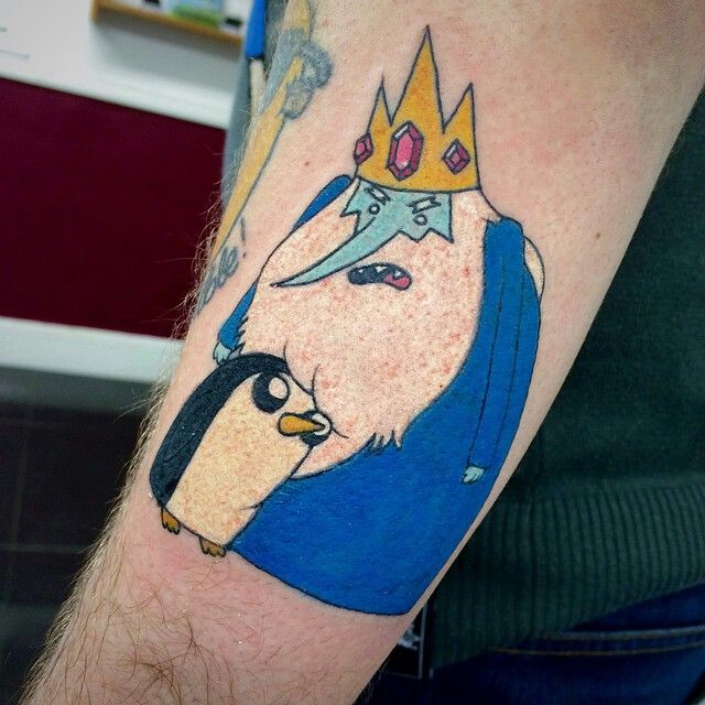Ice king adventure time tattoo