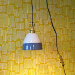 la LAMPE-BALADEUSEdiam. environ 15cmsuspension fil 5mètresmodèle sur commande