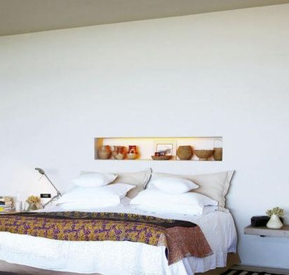 in my dream home the bedroom will have the wall opening like this!