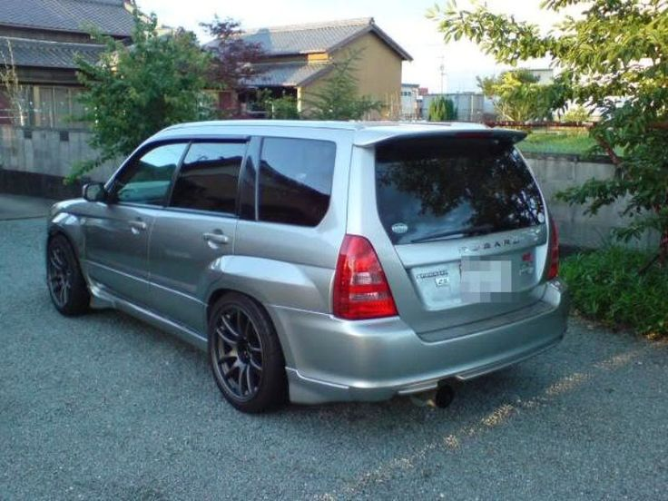 SG5 Forester Wide body