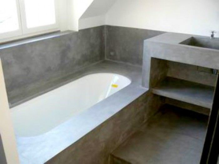 Badkamer ideeen beton google zoeken badkamer pinterest metropolitan - Badkamer beton wax ...