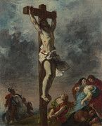 "New artwork for sale! - "" Christ On The Cross by Eugene Delacroix "" - http://ift.tt/2o6FQ8G"