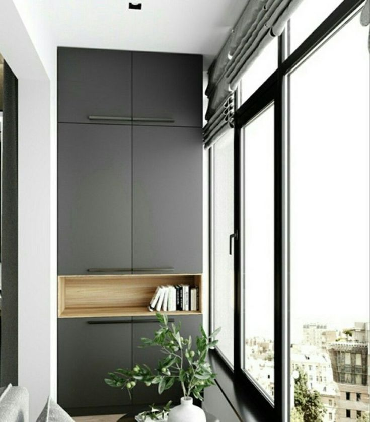 шкаф на балконе фото дизайн как
