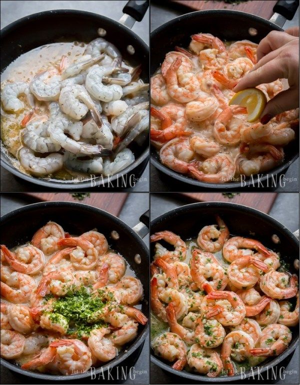 The best shrimp scampi recipe made with delicious shrimp tossed in a tangy and b…