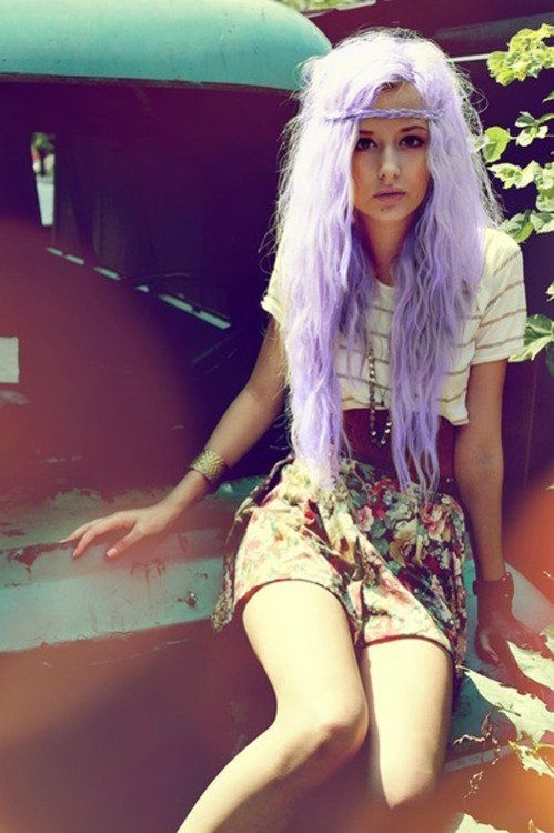 : Fashion, Blonde, Hairstyles, Hippie, Hair Styles, Clothes, Long Hair, Outfit, Beauty