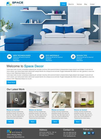 Interior Design Studio Free #WordPress Template  http://www.freetemplatesonline.com