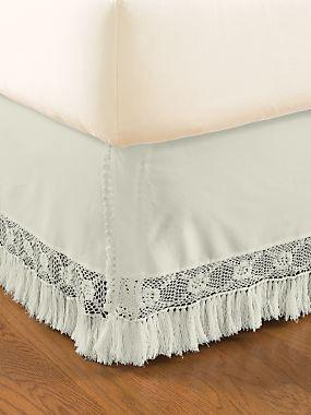 Kathleen Bed Skirt   LinenSource