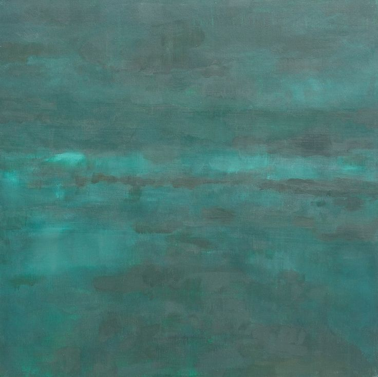 Painting 29.14, 100x100 cm, acryl on canvas #art #oil #contemporary art #abstract #water