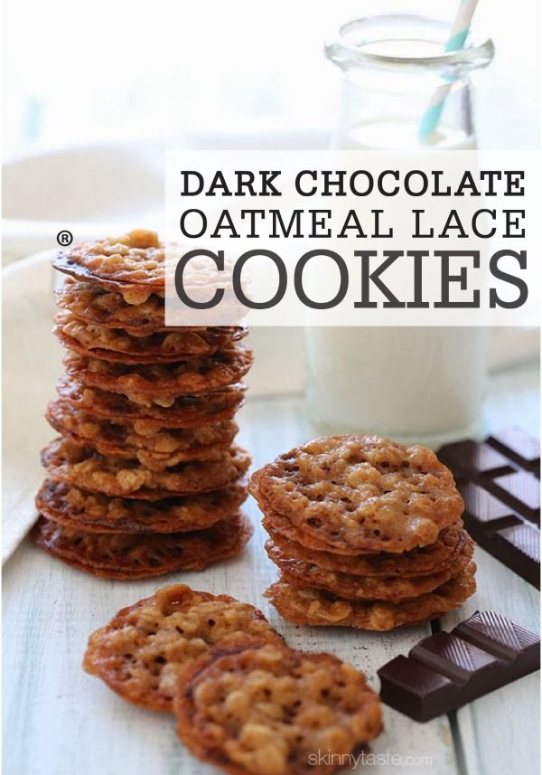 ... Oatmeal Lace Cookie recipe is a must-try, and the cookies go great