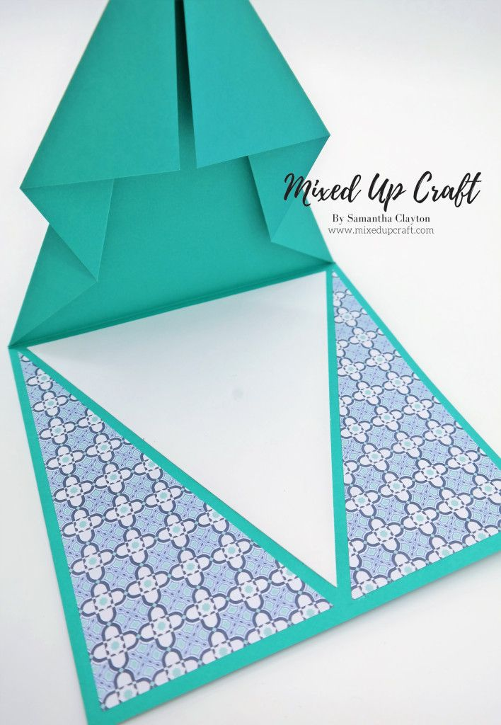 Arrow Fold Card Fancy Fold Cards Fancy Fold Card Tutorials Folded Cards
