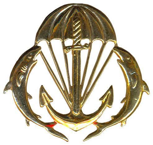 Commando beret badge (I)