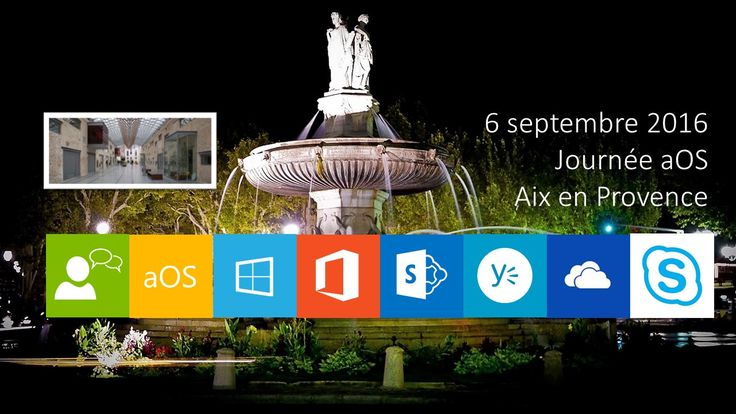 Journée aOS Aix-en-Provence du 6 septembre 2016