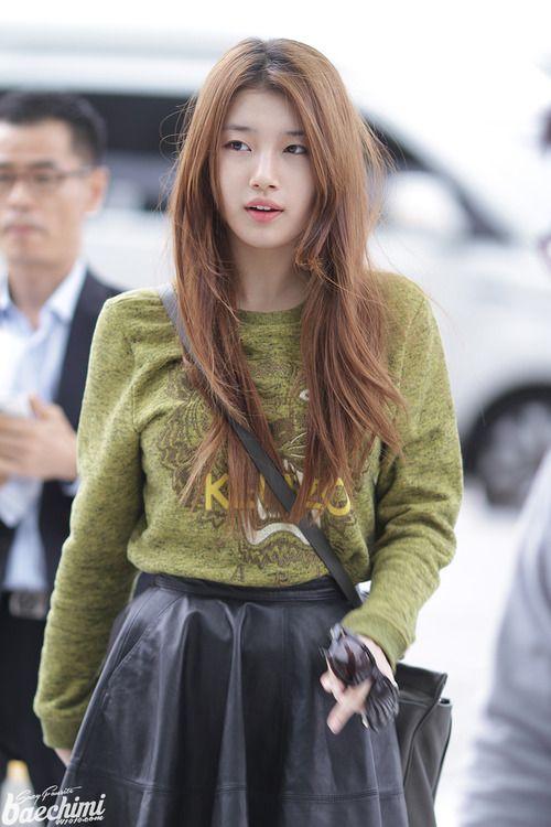 miss a suzy korean stars airport fashion casual