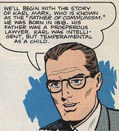 Κρυφές αδυναμίες: Αντικομμουνιστικά κόμικ, μέρος ένα. Ο Μαρξ δεν πλενόταν.