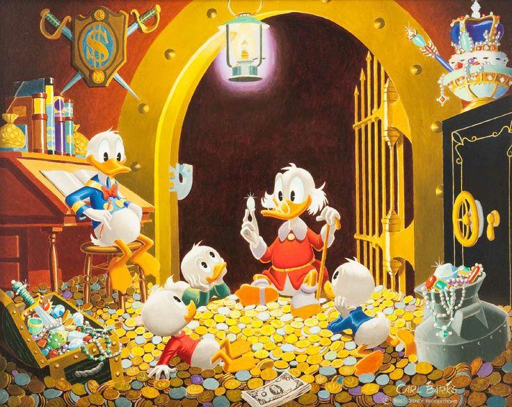 102 besten Carl Barks  Disney Ducks Bilder auf Pinterest  Disney