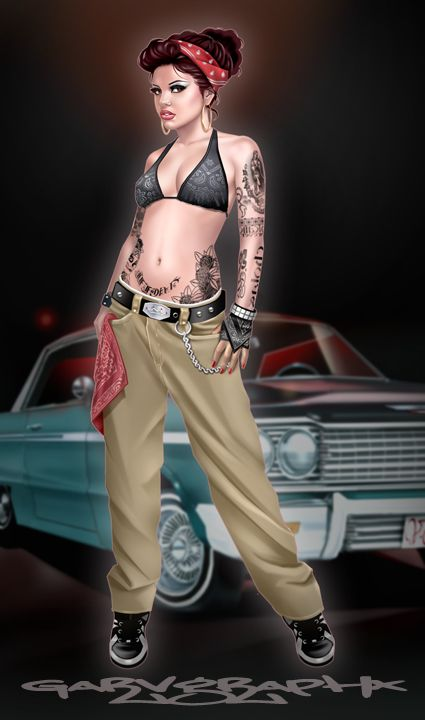 #Chicano_art #Gangsta       For more great pins go to @KaseyBelleFox