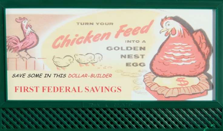 Town & Country O 2602-53 Chicken Feed Blinking Billboard