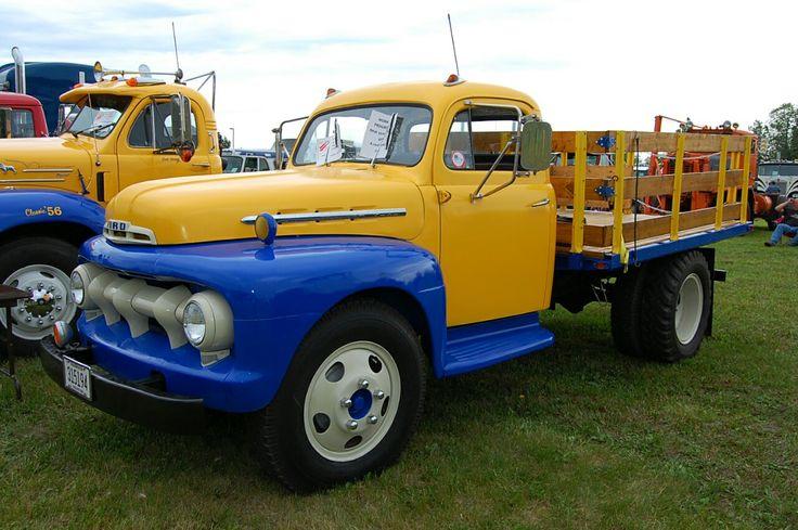 1951 Ford F4 flatbed Camiones, Autos clasicos, Autos